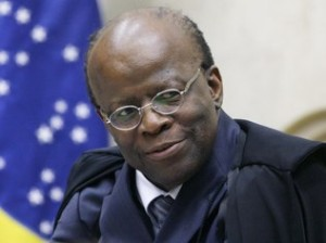 Fellipe Sampaio/SCO/STF Joaquim Barbosa, presidente do STF