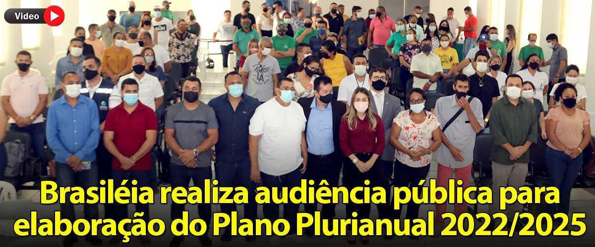 BRASILEIA PLANO PLURIANUAL