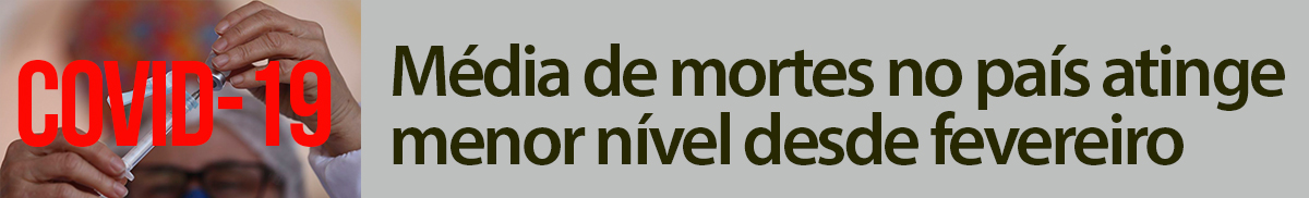 COVIDA DIMINUINDO
