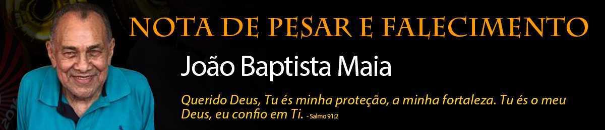NOTE DE PESAR JOÃO MAIA