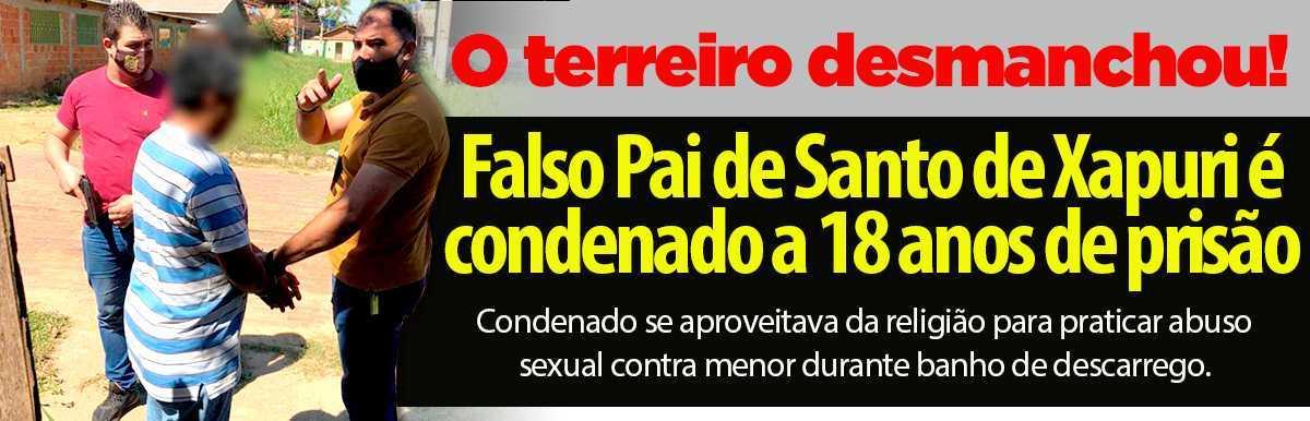 PAI DE SANTO PRESO