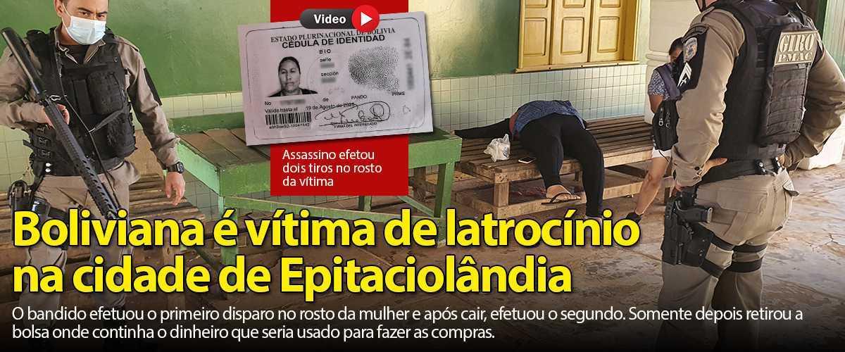 BOLIVIANA ASSASSINADA CHAMADA