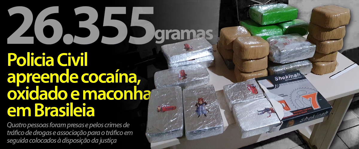 DROGAS BRASILEIA