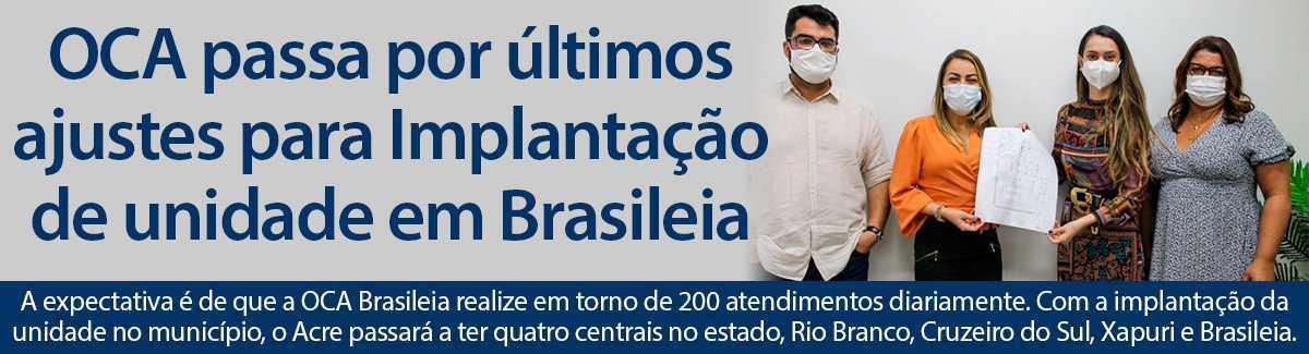 OCA EM BRASILEIA